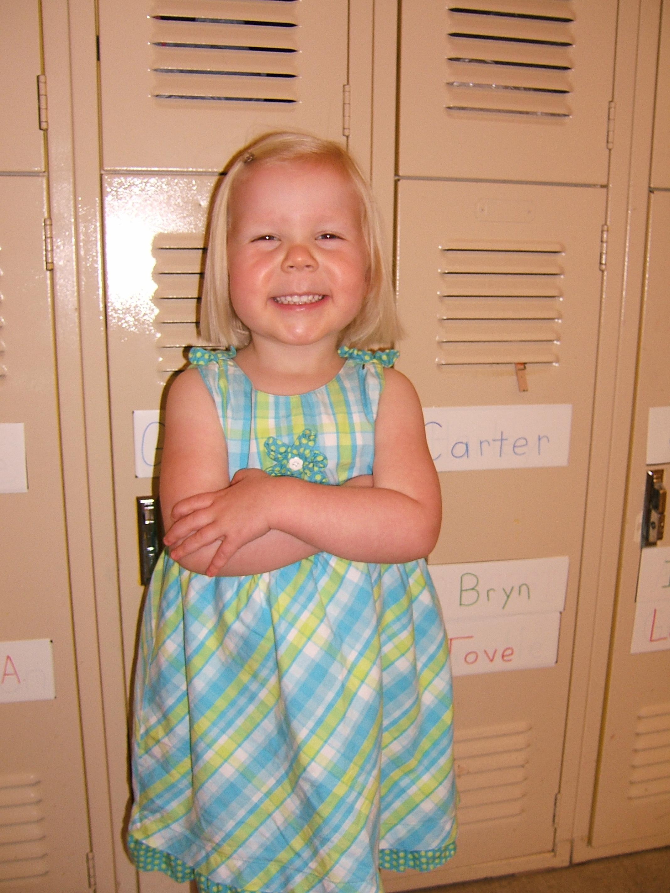 Genevieve at Preschool (September 2009)