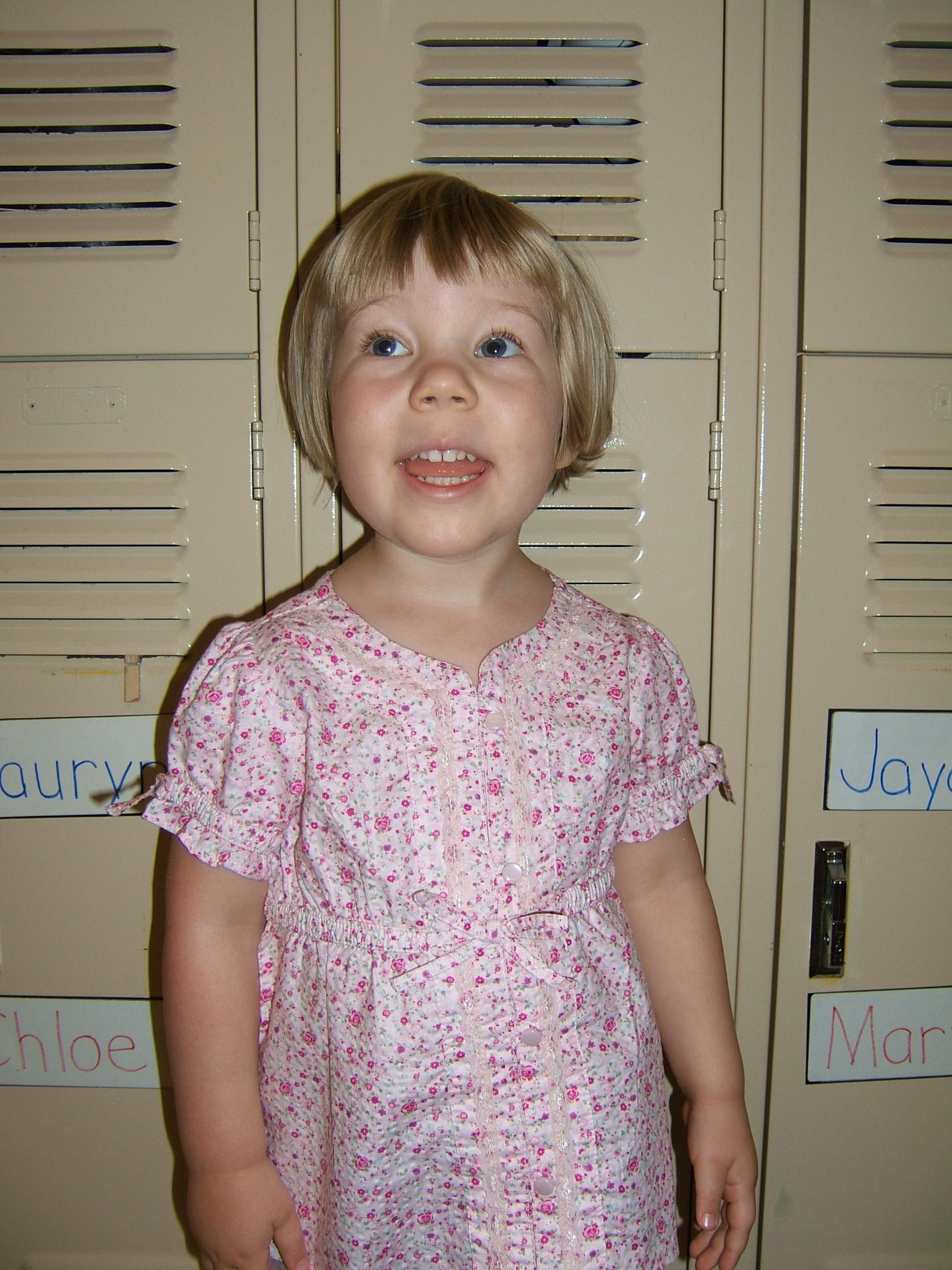 Julia at Preschool (September 2007)