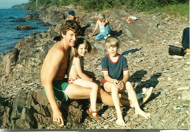 Summer 1981 on Lake Superior