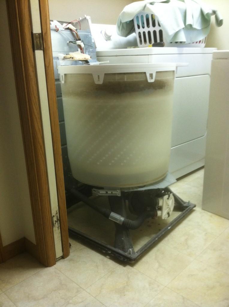 Disassembled Washing Machine