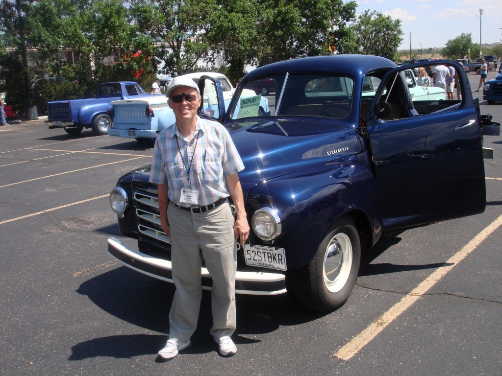Father-in-law and '52 Studebaker pickup