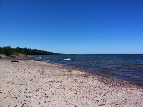 Lake Superior on the Keweenaw
