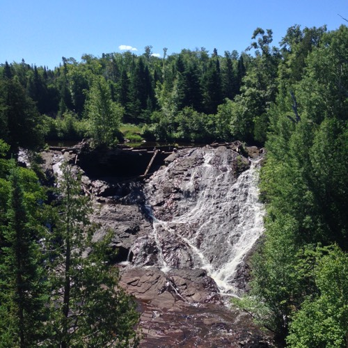 Eagle River Falls