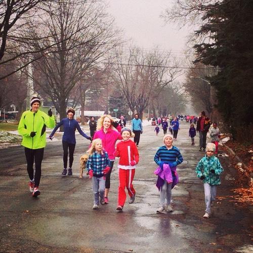 Jingle Bell Runners (and Bikers)