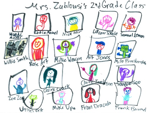 Vivi Art: Mrs. Zublowski's Second Grade Class