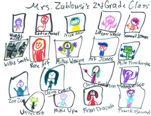 Vivi Art: Mrs. Zublowski's Second Grade Class