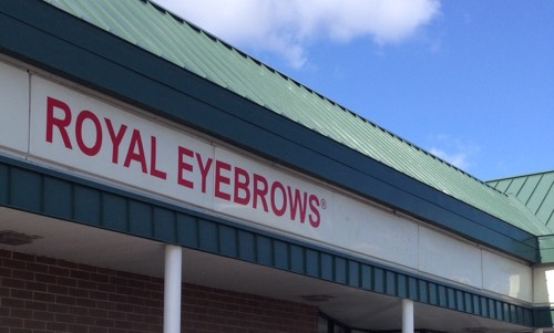 Royal Eyebrows