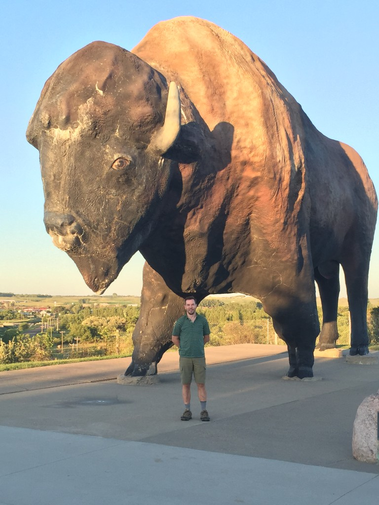 The World's Largest Buffalo (Jamestown, ND)