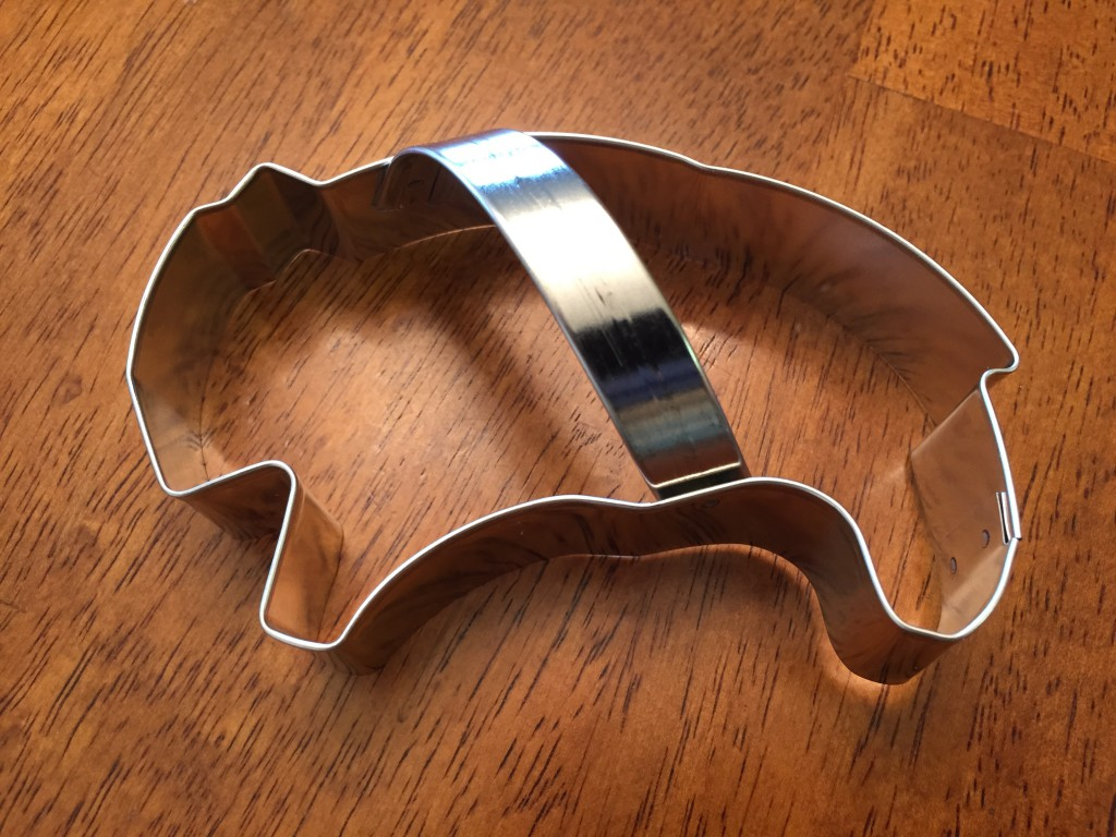 Bison Cookie Cutter