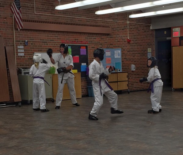 Everybody Is Tae Kwon Fighting