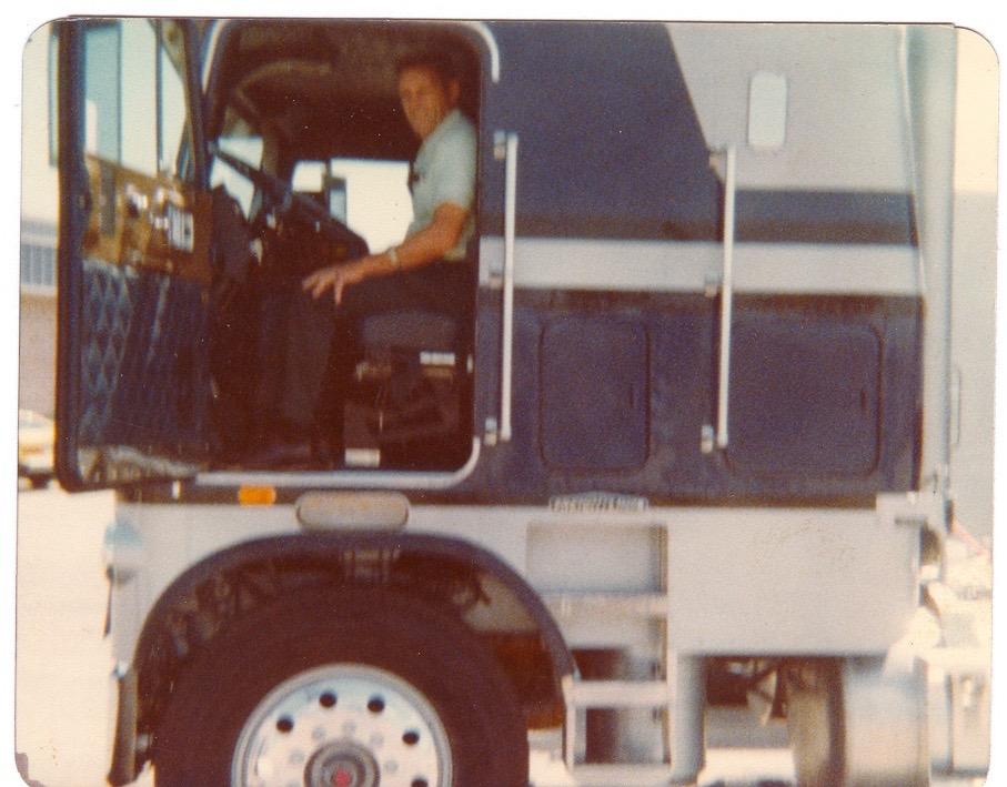Grandpa in his truck