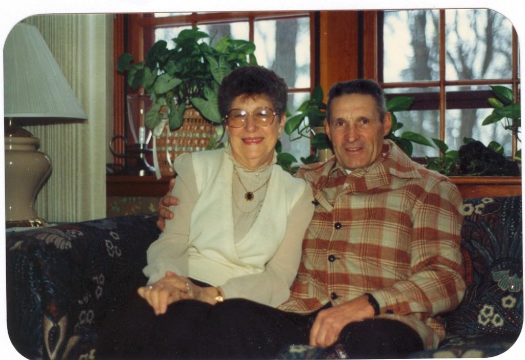 Grandma and Grandpa Jauquet